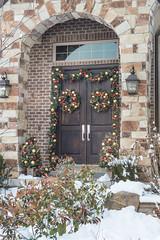 Wreaths & Garlands (Christmas World) Tags: lighting christmas light house holiday snow tree led mo event incandescent slo c9 c7 christmaslitescom