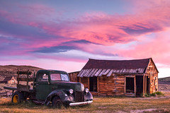 Bodie Sunset 082914 (Aztravelgrl (Forgotten Places Photography)) Tags: california sunset usa abandoned bodieghosttown