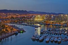 Eilat _ Marina night _ Dafna Tal_IMOT (Israel_photo_gallery) Tags: sea marina boats israel boat yacht redsea leisure recreation hotels yachts accommodation economy eilat eilatmountains dafnatal eilatmarina