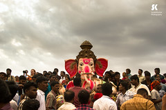 "Lord Ganesha Immersion Festival, Chennai • <a style=""font-size:0.8em;"" href=""http://www.flickr.com/photos/86056586@N00/15154549006/"" target=""_blank"">View on Flickr</a>"