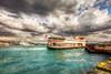Istanbul (Nejdet Duzen) Tags: trip travel sea ferry turkey cloudy türkiye istanbul deniz vapur goldenhorn eminönü turkei bosphour seyahat haliç istanbulboğazı bulutlu