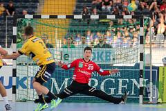 "DKB DHL15 Rhein-Neckar-Löwen vs. HSV Handball 06.09.2014 044.jpg • <a style=""font-size:0.8em;"" href=""http://www.flickr.com/photos/64442770@N03/15169214105/"" target=""_blank"">View on Flickr</a>"