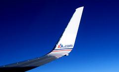 Shark Attack (Arivan Miculis Reigota) Tags: trip blue sky azul canon airplane shark deep cu american viagem avio airlines aa tubaro sx510