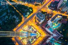 vl_03536 (Hanoi's Panorama & Skyline Gallery) Tags: street city bridge sunset sky panorama lake building skyline architecture skyscraper canon asian asia downtown capital skylines vietnam westlake hanoi asean appartment vitnam hty hni skyscrapercity badinh caoc banh cunhttn