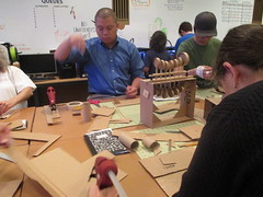 IMG_8757 (cpl_makerspace) Tags: chicago cardboard cpl chicagopubliclibrary guestpresenter hwlc haroldwashingtonlibrarycenter makerspace cplmakerlab