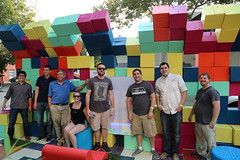 Park(ing) Day 2014 (Dreyfuss + Blackford Architecture) Tags: california architecture team downtown day parking builders sacramento architects tetris blackford ascent dreyfuss 2014 parcade parklet lowbrau wedesignedthis