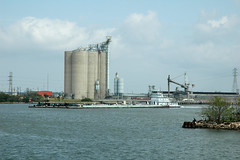 Tugboat (Tejas Cowboy) Tags: world park sea 2 1 la boat us san war texas state tx wwii navy houston silo ww2 tugboat porte battlefield 2009 usn uss jacinto dreadnought