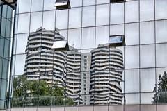 Window reflections at the Pyeonghwa motors dealership (Ray Cunningham) Tags: north korea motors pyongyang dprk coreadelnorte pyeonghwa  punghua