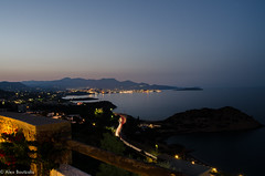 Agios nikolaos (alexisbutzalis) Tags: city trip travel sea vacation water night landscape nikon waterfront clear greece v crete enviroment nikolaos agios d7000