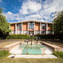 Bruce Hall (Chimay Bleue) Tags: canberra act australia midcentury modern modernism modernist design architecture anu