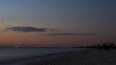 Nightfall DSL6760.Explored (iloleo) Tags: landscape shoreline bonitasprings florida dusk sunset barefootbeach nikond7000 longexposure timelapse le scenic beach