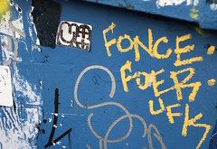 Tags make the world go round... LOL FONCE FOER UFK MQ (FONS One, UFK CMK) Tags: los angeles california graffiti la ca graff cali 2017 fonz fons fonse fonce fonze tv television foncy fonzy fonzie fonzi ufk cmk street art illegal illegals streets slaps slaptags stickers tags tagging spray paint cans rollers pieces bombs throw up throwups trash bins wheat paste freeway freeways trashbins meanstreak mean streak markers unis uni marker pilot montana scribe scribes ironlak krylon photo photos photography pics slideshow video