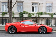 Ferrari (chearn73) Tags: ferrari london uk car red speed travel city urban sportscar