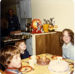 Actual 5th Birthday Party in 1979 with Reed Spider-Man Party Supplies (WishItWas1984) Tags: spiderman party supplies kids children birthday vintage retro plate table cover cloth centerpiece napkins 1978 1979 1970s 70s 1980s 80s reed