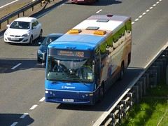 53256 - SP06 FVJ (Cammies Transport Photography) Tags: bus volvo coach edinburgh fife profile via flyover stagecoach a90 in inverkeithing corstorphine hillfield plaxton x52 53256 sp06fvj