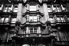 Glasgow of the Dead (06) (romain@pola620) Tags: uk greatbritain urban blackandwhite black building film analog 35mm scotland town blackwhite scary lomo lca lomography tmax3200 noir noiretblanc kodak decay glasgow gothic goth analogue 3200 derelict gothique argentique noirblanc 3200iso pellicule écosse arkham royaumeuni