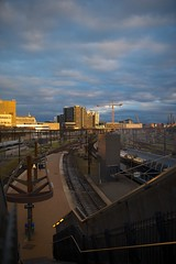 DSC_0648 (Lars Glorvigen) Tags: sunset sunlight train 35mm copenhagen nikon sigma d700 sigmaart