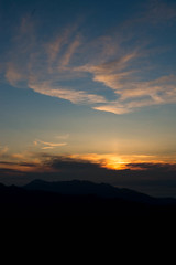 Sunset (at 9:15pm)