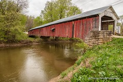 Roseville Bridge Parke County Indiana (Thomas DeHoff) Tags: county bridge sony indiana covered parke a700