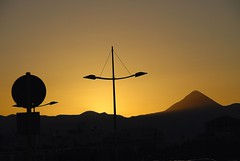 A Cretan Odyssey - A deLIGHTful Evening Draws to a Close..... (antonychammond) Tags: silhouette evening streetlight dusk greece crete heraklion iraklion coth highqualityimages virtualjourney saariysqualitypictures coth5