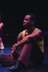 Roger Ellis (Richie) in A Chorus Line, produced by Music Circus at the Wells Fargo Pavilion June 24 – 29, 2014. Photos by Charr Crail.