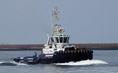 offshore tugs ijmuiden bernardus iskestugs damenscheepsbouw asdtug2810hybrid