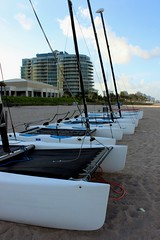 Catamaran Sail Boat For Rent (Prayitno / Thank you for (12 millions +) view) Tags: ocean beach marriott private harbor boat florida harbour fort miami rental front line resort mia sail fl rent forrent fll laudardale katamaran konomark