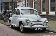 Morris Minor 1956 (XBXG) Tags: auto old uk classic netherlands car amsterdam vintage automobile nederland voiture british 1956 morrisminor morris minor paysbas ancienne brits anglaise cwodlp vg4719 sidecode1