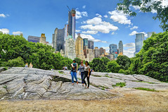 Manhattan from Central Park (Anatoleya) Tags: city nyc newyork canon centralpark manhattan 5d hdr 5d3 anatoleya