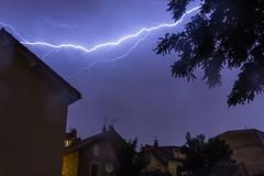 Orages sur La Garenne Colombes (Dydi Lion) Tags: storm rain night canon eos la pluie lightning nuit thunder t3i tempte orages garenne colombes 600d 100614