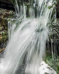 Ravine Waterfall over the Loch, Central Park, New York City (jag9889) Tags: park nyc newyorkcity usa ny newyork waterfall unitedstates centralpark manhattan unitedstatesofamerica landmark cp cascade 2014 nycparks jag9889