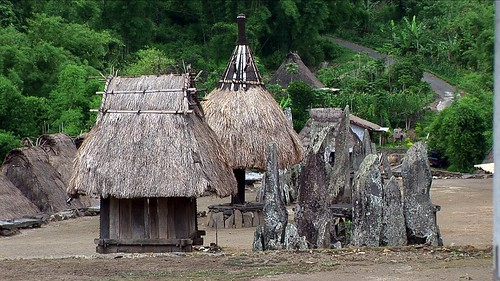 Indonesia - Flores - Traditional Village Bena - Stone Age Megaliths - 108