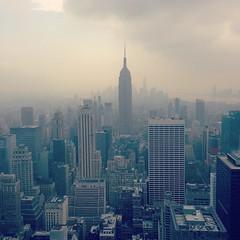 New York City (biancaressl) Tags: city nyc usa ny newyork america view empirestatebuilding amerika bigapple topoftherocks instagram brphotogallery biancaressl