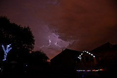 _DSC1394 (Ben van der Willik) Tags: uk light weather solar nikon long exposure leicester july fork lightening nikkor thunder 2014 18200mm d90 countesthorpe