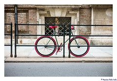 Red wheels (MaxDeVa) Tags: leica torino 50mm streetphoto rosso f25 biciclette summarit