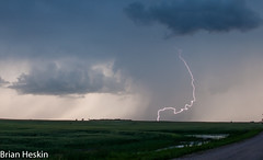 Rogue Bolt (BrianHeskin) Tags: nature weather northdakota lightning storms chasing