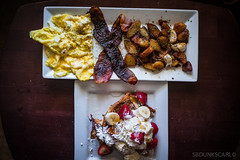 BRUNCH: EGGS WITH DILL WEED, BROWN SUGER BACON AND HOUSE FRIES (sbdunkscarl) Tags: california food 6 white house lake chicago reflection nature water birds sign breakfast clouds forest swimming canon kyle oakland major three michael photo waterfall bacon shoot thomas mark no sox cream strawberries sugar jordan bananas fries porn rosemary caution garlic eggs brunch basil cubs coors whipped carmine decadent powdered undefeated sixes carmines dillweed