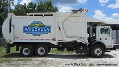 City of Wauchula - 2014 Mack MRU613 / E-Z Pack Hercules FEL (FormerWMDriver) Tags: city trash truck garbage florida front collection pack rubbish end ez fl waste refuse loader load mack hercules sanitation fel frontloader wauchula frontload mru terrapro mru613 cityofwauchula