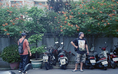 Buddies (denise yeap) Tags: travel film analog 35mm asia taiwan fujifilm taichung analogue mjuii