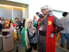 Tsunade and Jiraiya, Anime Expo (jim61773) Tags: cosplay  jiraiya tsunade