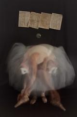 ballet (Alessandra Scalogna) Tags: ballet vintage donna reflex ballerina foto danza fotografia bianco classico profumo classica truthandillusion