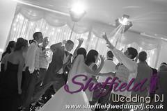 Andrew & Lauren McCambridge - Hellaby Hall - Black & White  Wedding Photos by Sheffield Wedding DJ 0005