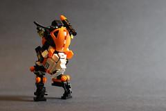 ORANGETECH Oriole (Captain Arik) Tags: lego mecha mech legobot brickarms legomecha legomech legomilitary legodrone