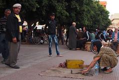 Taroudant snake charmer (jan_bo) Tags: snake morocco souk snakecharmer taroudant