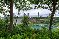 Niagara Falls - 29 (www.bazpics.com) Tags: bridge light usa newyork canada color colour fall nature water night river landscape flow niagarafalls boat waterfall rainbow scenery ship unitedstates natural drop tourists niagara falls american barryoneilphotography