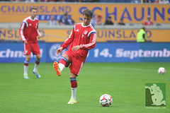 """Vorbereitungsspiel MSV Duisburg vs. FC Bayern Muenchen • <a style=""""font-size:0.8em;"""" href=""""http://www.flickr.com/photos/64442770@N03/14712888294/"""" target=""""_blank"""">View on Flickr</a>"""