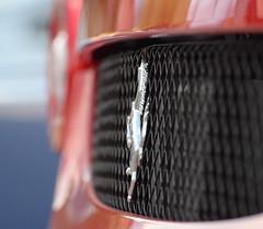 Ferrari Badge (saddy_85) Tags: show red horse black car wheel yellow silver nikon arch display fast 360 ferrari grill badge brake disc tyre alloy prancing caliper 458 d5100