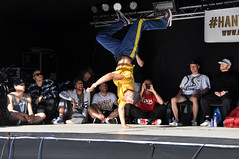 Dope N  Mean Breakdance Contest 2014 (Tim Dennell) Tags: street dance sheffield contest competition battle 11 moves tramlines 2014 hiphop dopemean hantuclan dopenmeanbreakdance