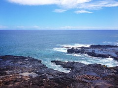 Spouting Horn, Poipu (gillian_oshatz) Tags: ocean hawaii rocks blowhole kauai poipu horn spout iphone spouting poipubeachpark