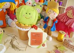 Gostaram? (Ateliê Bonifrati) Tags: cactus cute diy craft feltro tutorial pap lepetitprince molde fel pequenopríncipe passoapasso bonifrati agulheiro